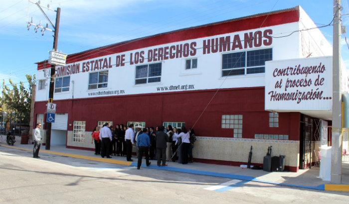 Inaugura cndh chihuahua nuevas oficinas en delicias for Oficina zaragoza delicias dni