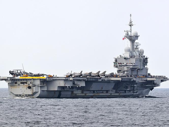 Francia vuelve a enviar portaaviones para combatir al Estado ...