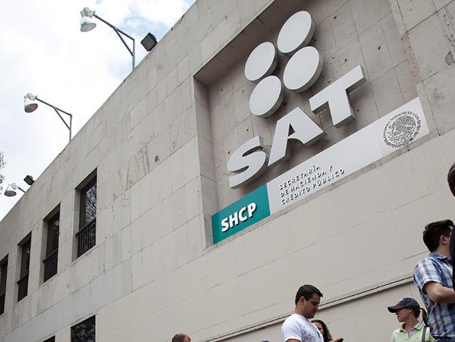En 2 años, el Servicio de Administración Tributaria (SAT) exhibió a