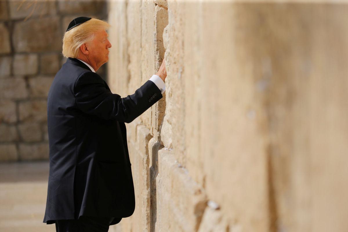 'Hay oportunidad de lograr la paz': Trump en Israel