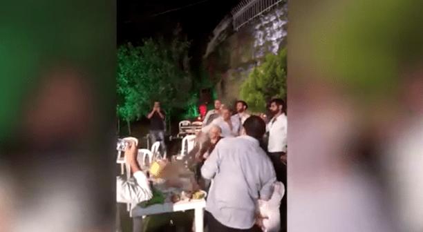 Disparó al aire en su boda y le pegó a los invitados