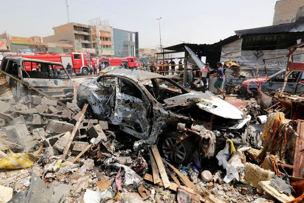 Irak: un atentado cerca de un edificio público mató a 13 personas
