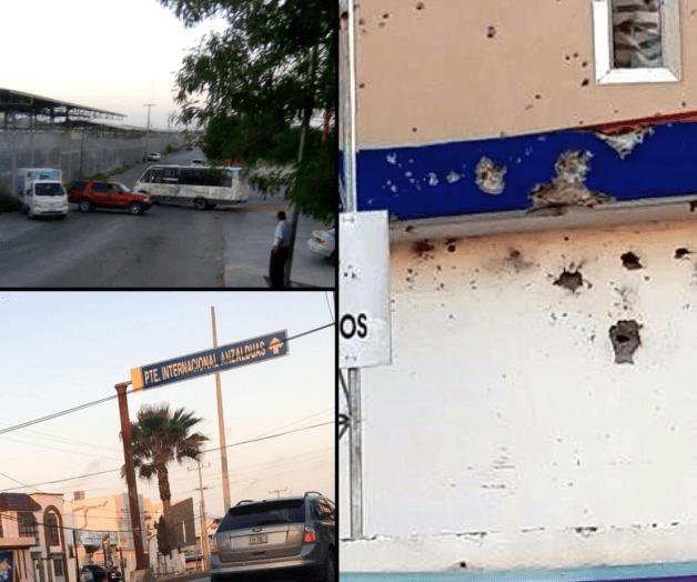 Se registran balaceras y bloqueos en Reynosa