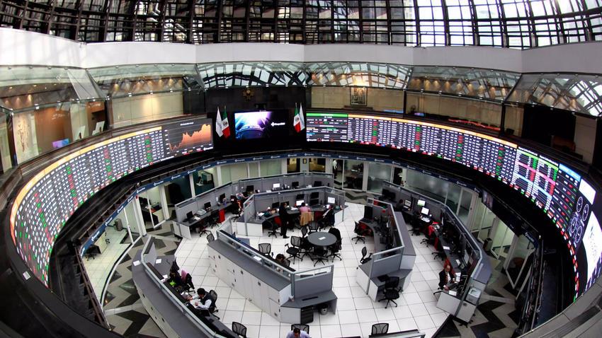 La bolsa mexicana suspendió sus operaciones por el fuerte sismo