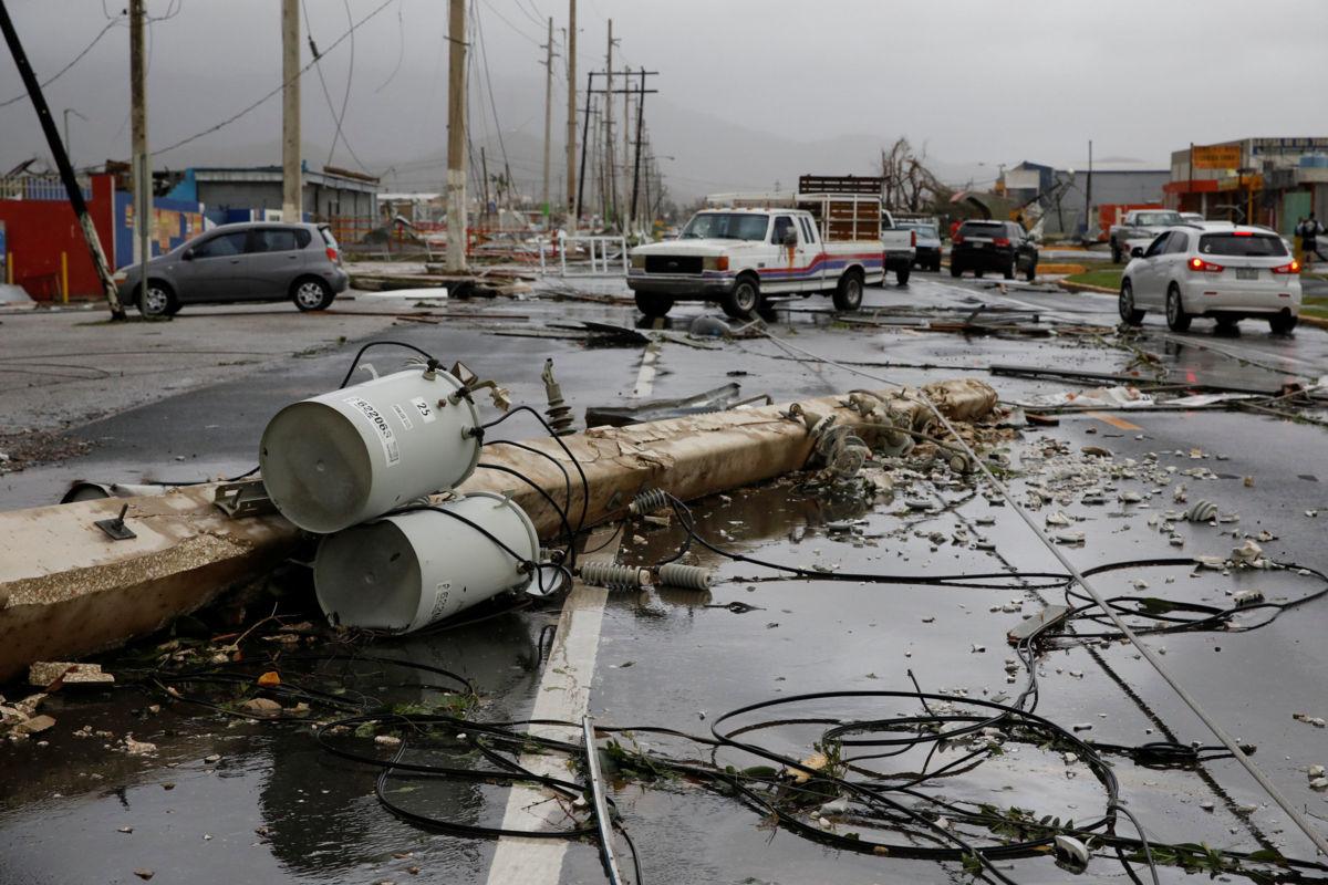 La furia con la que destrozó Puerto Rico [VIDEOS — Huracán María
