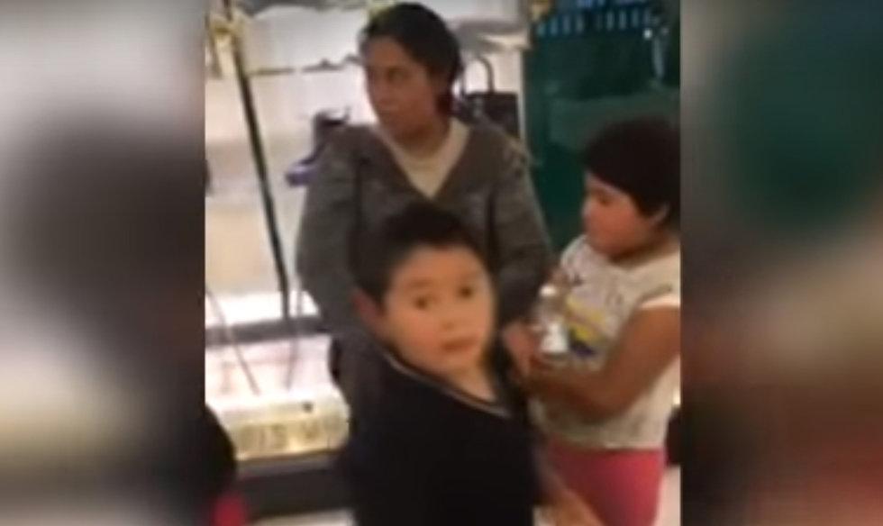 Discriminan a familia en tienda departamental