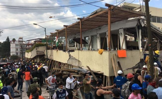 Localizan cuerpo de mujer en colegio Rébsamen — Terremoto en México