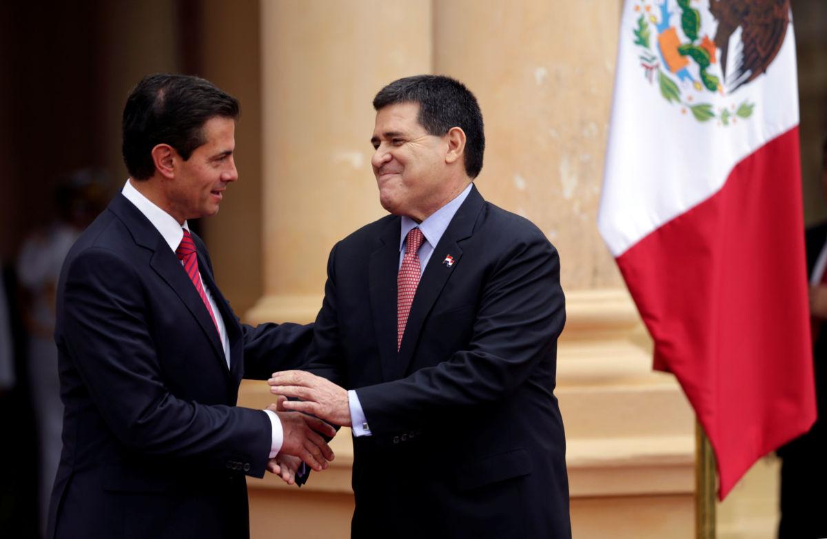 Ni perdonar ni olvidar a delincuentes: Peña Nieto
