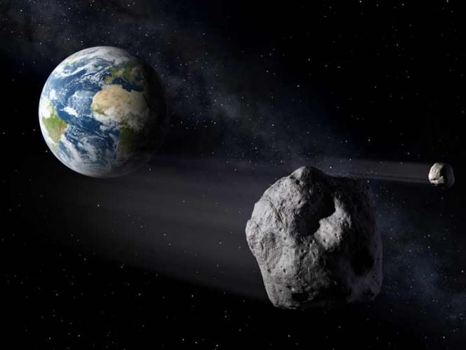 Asteroide pasara este domingo a 4.2 millones de km. de la tierra