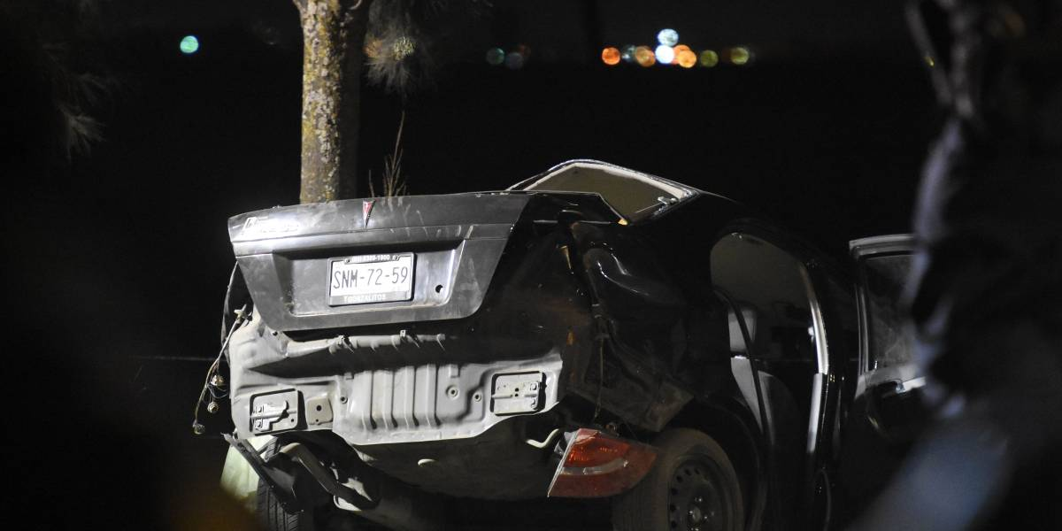 Niño de 12 años choca auto en Tláhuac y mueren 5 menores