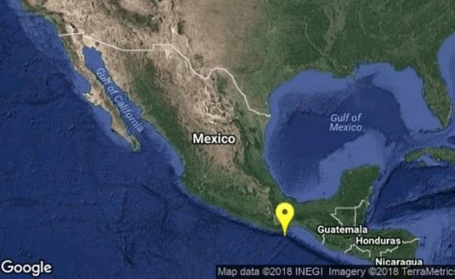 Se registran cinco sismos de mediana intensidad en Oaxaca