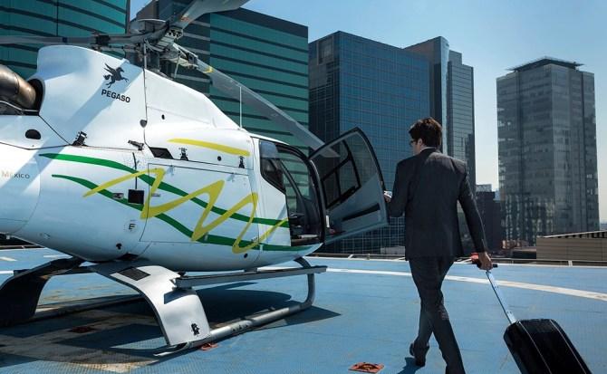 ¡Adiós tráfico! Ya puedes hacer viajes compartidos en helicóptero