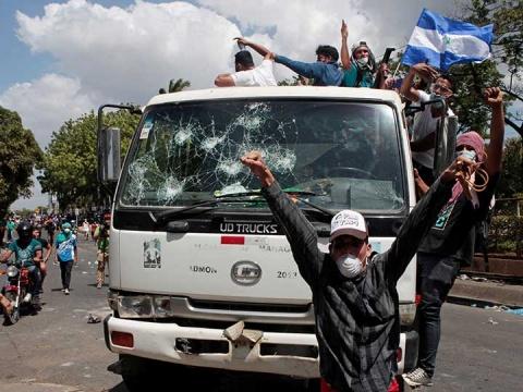 Piden la renuncia de Ortega — Nicaragua