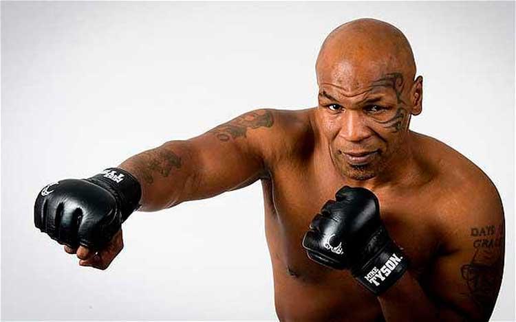 Mike Tyson y padre de