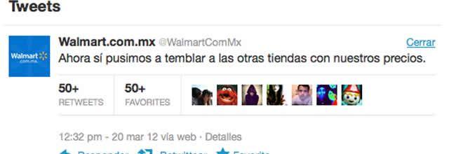 Genera polémica en redes sociales tweet de Walmart sobre temblor ...
