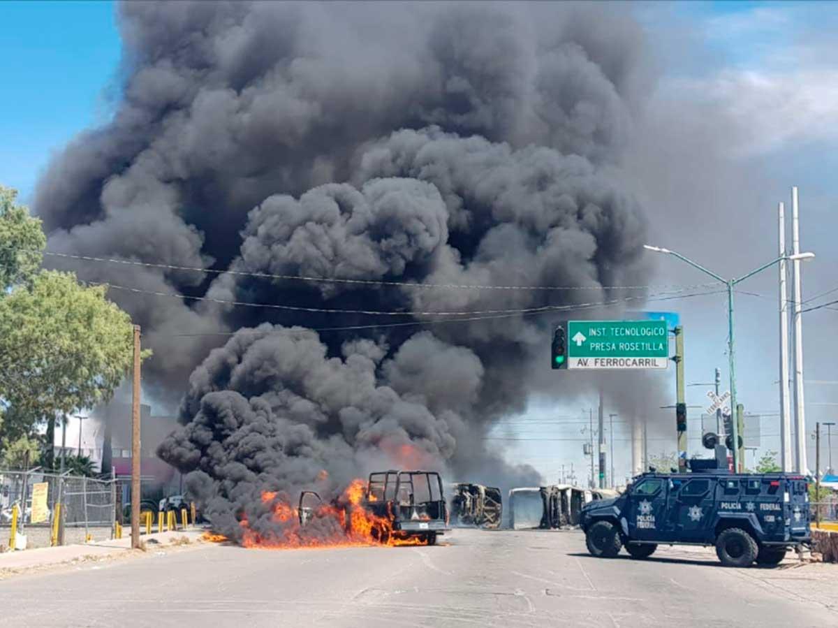 Actos violentos de agricultores en Delicias, Chihuahua, deja 17 detenidos